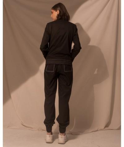 Saco Cruzado  Negro | Belisa Pulido | Sastrería Artesanal